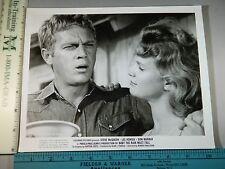 Rare Original VTG Steve McQueen Lee Remick Baby The Rain Must Fall Movie Photo