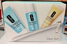 Clinique Acne Solutions Clear Skin Travel set~ Cleansing Gel, Clarifying NIB