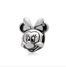 5PCS Charm Alloy  Big Hole Beads fit European Silver Bracelet DIY-- HJ019