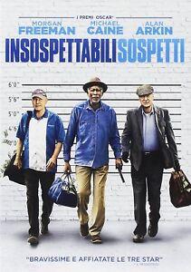 INSOSPETTABILI SOSPETTI CON MORGAN FREEMAN, MICHAEL CAINE, ALAN ARKIN (DVD)