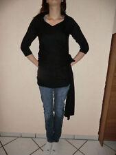 3/4 Arm Damen-Pullover & -Strickware ohne Muster in Größe 40