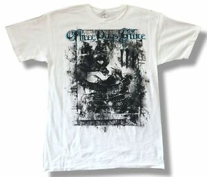Three Days Grace Destroyed White T Shirt New Official 3DG