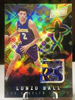 2017 Panini Black Friday Lonzo Ball Rookie Card Serial Numbered 08/10 RARE M-LB
