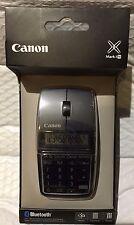 Canon X Mark1 Bluetooth Wireless 3-in-1 BT Mouse Calculator & Keypad Black