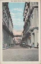 Postcard San Rafael Street Havana Cuba