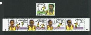 Jamaica 1980, Olympic Games, Moscow sg498/502 MNH