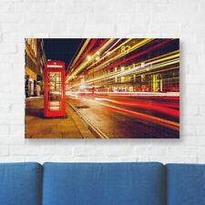 """London Printed Canvas Art 22"""" (56cm) x 16"""" (40cm) Beautiful For Home"""