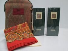""" VETIVER di ETRO "" ACQUA DI COLONIA 50ml + AFTER SHAVE 50ml +PASHMINA+POCHETTE"