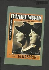 Nostalgia Postcard Theatre Word Poster  Noel Coward & Gertrude Lawrence 1936