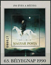 Hungary 1990 SG#MS4000 Stamp Day Paintings MNH M/S #D2654
