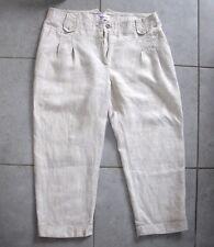 Pantalon pantacourts en Lin Armand Thierry 42