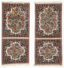 A Pair of Kerman Shared Warp Double Rugs, Persia: 1'8'' x 4'1'' Lot 110