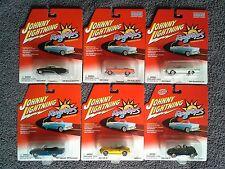 Johnny Lightning RAGTOPS R1 6 Car MOC MIP Lot TBIRD BelAir BMW GTX Pt Cruiser