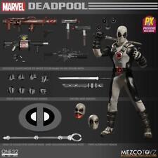 2018 Marvel PX Mezco One 12 Collective Grey X-force Deadpool Action Figure MIB