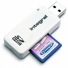 UK Stock Integral 426086 USB Compatible SD Card Reader