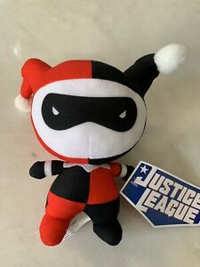 NEW Justice League Chibi Collection Harley Quinn Plush Toy Doll Figure DC Comics