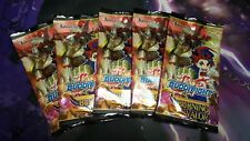 5x FUTURE CARD BUDDYFIGHT BURNING VALOR SEALED BOOSTER PACKS
