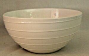 "Mikasa Swirl White Porcelain 8"" Round Vegetable Serving Bowl New"