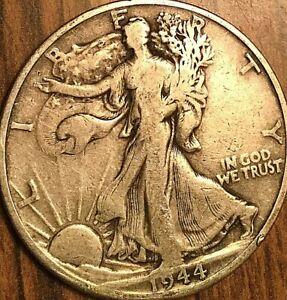 1944-D USA SILVER 50 CENTS HALF DOLLAR COIN