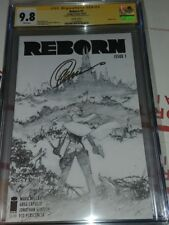 "Reborn 1 Sketch Cover ""The Collection of Capullo"" CGC SS 9.8 sig Capullo NETFLIX"