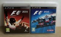 F1 Racing X2 Games Playstation 3  F1 Racing 2011 And F1 Racing 2012