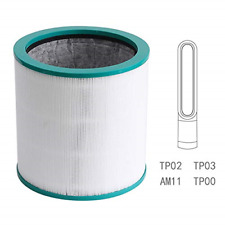 Replacement Filter, for Dyson Pure Cool Link Tp02, Tp03,Dyson Tower Purifier, no