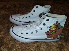 Converse Scooby Doo White Hi Top Trainers UK4 EUR37 Women's Kids