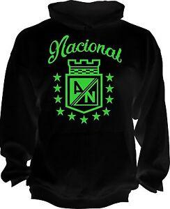Atletico Nacional Colombia Medellin Futbol Soccer Hoodie Camiseta Postobon New