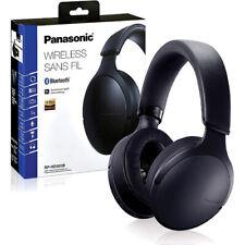 Panasonic RP-HD305BPPK Premium Hi-Res Bluetooth On-Ear Headphones Black