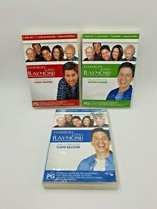 Everybody Loves Raymond Seasons 1, 2 & 3 DVDs Pre-Owned VGC Free Postage PAL 4