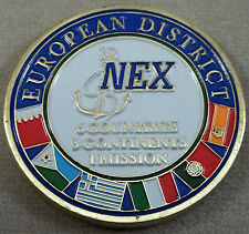 NEX / Navy Exchange Service Command Challenge Coin / European District