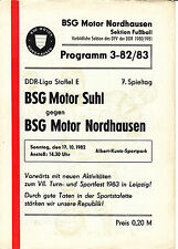 DDR-Liga 82/83 BSG Motor Ostrów-BSG Motor del acero, 17.10.1982