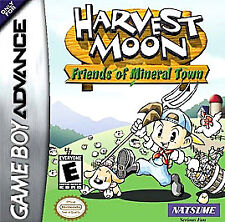 Harvest Moon: Friends of Mineral Town (Nintendo Game Boy Advance, 2003) SEALED