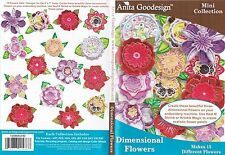 Anita Goodesign Dimensional Flowers Embroidery Machine Design Cd New 120Maghd