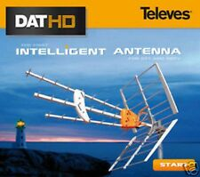 SET ANTENNA DIGITALE TERRESTRE TELEVES DAT45 HD 1495 + ALIMENTATORE A 2 USCITE