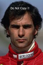 Emmanuel Pirro Scuderia Italia F1 PORTRAIT PHOTOGRAPHIE DE 1991