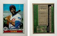 Gene Clines Signed 1979 Topps #171 Card Chicago Cubs Auto Autograph