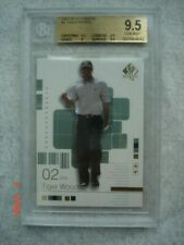 Tiger Woods 2002 Upper Deck SP Authentic #1 2nd Year PGA