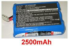Batterie 2500mAh type MLA142339G Pour MENNEN Medical 2000