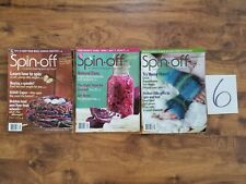 lot Spin-Off Magazine 2010 angora alpaca yarn dyes weaving spinning knit gloves