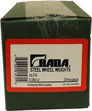 Bada ALFE  AL Steel Wheel Weights 3.00oz. NEW
