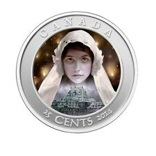 Canada Hologram Coloured Coin Haunted Series - Ghost Bride (2014)