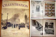L'illustration N° 4891 du 28 nov. 1936 . Le siège de Madrid
