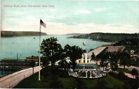 Vintage Postcard - Un-Posted Hudson River From Claremont New York NY #4287