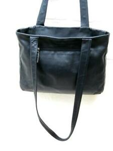 Tote  Shopper  Real soft, soft leather slouch bag   Black  From Italy