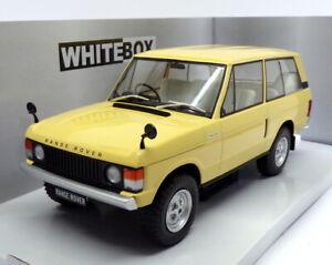 Whitebox 1/24 Scale WB124030 - 1972 Range Rover 3.5 V8 - Dark Yellow