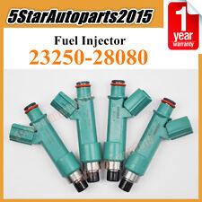 Set 4 Fuel Injector 23250-28080 for Toyota Corolla Camry Matrix Scion tC xB 2.4L