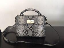 New Kate Spade Python Print Nadine Leather Satchel Crossbody bag, Pretty rare