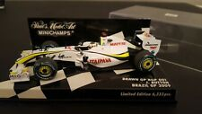 Minichamps 1:43 Brawn BGP001 Jenson Button Brazil GP 2009 - 400 090622