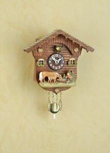 German Black Forest Cuckoo Clock Swiss House with Quartz movement cuckoo music